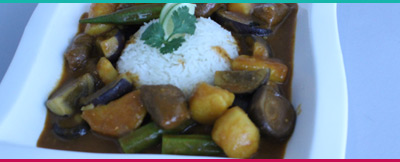 Vegetarian Massaman Curry