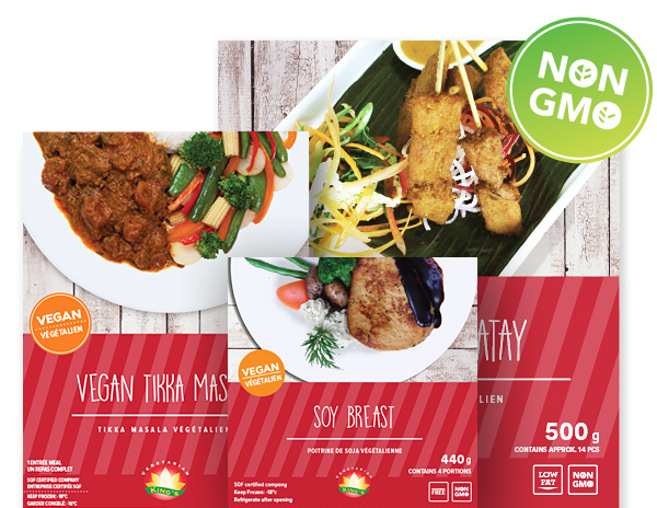 NON-GMO Vegan & Vegetarian Food